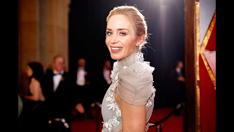 Emily Blunt - Talks about speaking fluently